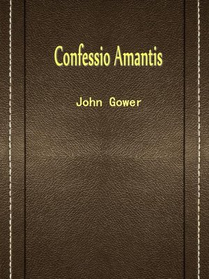cover image of Confessio Amantis