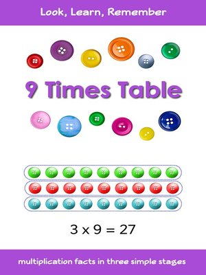 cover image of 9 Times Table