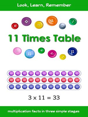 cover image of 11 Times Table