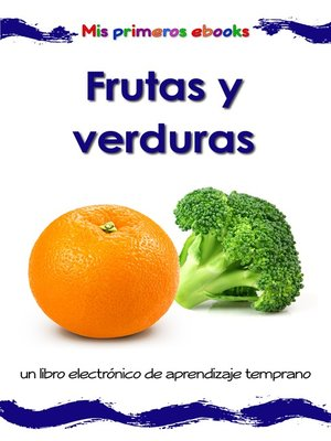cover image of Frutas y verduras