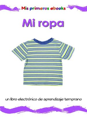cover image of Mi ropa