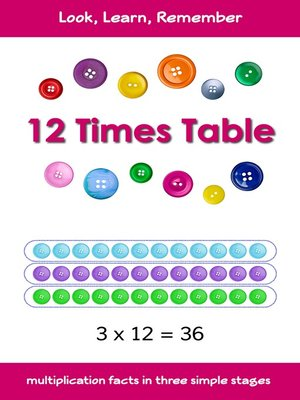 cover image of 12 Times Table