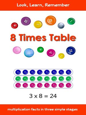 cover image of 8 Times Table