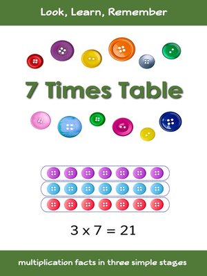 cover image of 7 Times Table