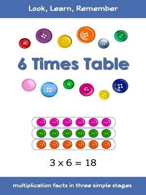 cover image of 6 Times Table