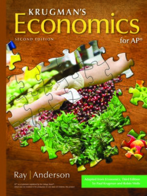 cover image of Krugman's Economics for AP