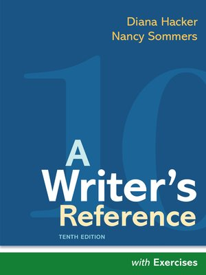 cover image of A Writer's Reference with Exercises