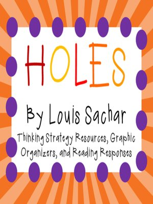 cover image of Holes by Louis Sachar