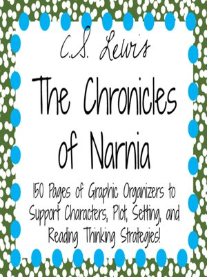 cover image of The Chronicles of Narnia by C.S. Lewis