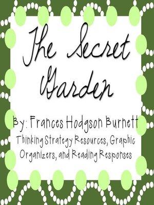 cover image of The Secret Garden by Frances Hodgson Burnett