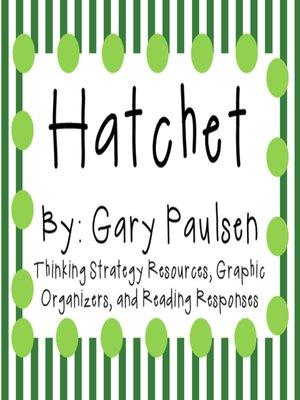 cover image of Hatchet by Gary Paulsen