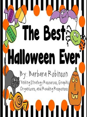 cover image of The Best Halloween Ever by Barbara Robinson