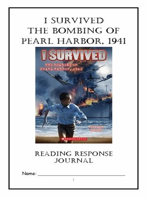 book report on the pearl harbor Book summary: the title of this book is i survived the bombing of pearl harbor, 1941 (i survived #4) and it was written by lauren tarshis, scott dawson (illustrator) this particular edition is in a.