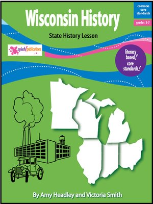 cover image of Wisconsin History Lesson-Core Standards