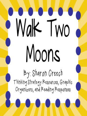 cover image of Walk Two Moons by Sharon Creech