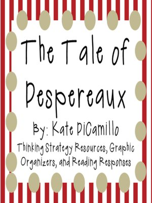 cover image of The Tale of Despereaux by Kate DiCamillo