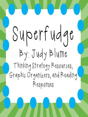 cover image of Superfudge by Judy Blume