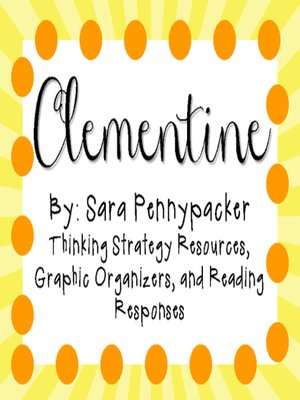 cover image of Clementine by Sara Pennypacker