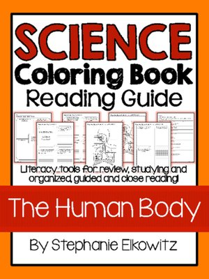 Human Body Coloring Book Reading Guide by Stephanie Elkowitz ...