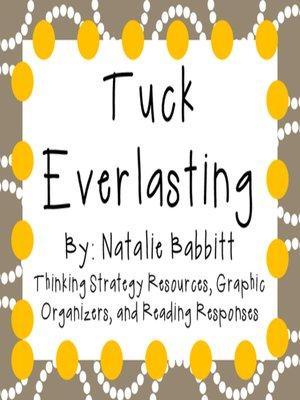 40 Results For Tuck Everlasting Natalie Babbitt Overdrive Rakuten