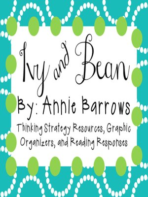 cover image of Ivy and Bean by Annie Barrows