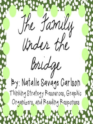 cover image of The Family Under the Bridge by Natalie Savage Carlson
