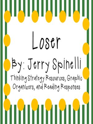 cover image of Loser by Jerry Spinelli