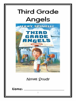 cover image of Third Grade Angels (Jerry Spinelli) Novel Study / Reading Comprehension