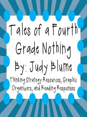cover image of Tales of a Fourth Grade Nothing by Judy Blume