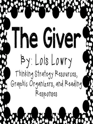 cover image of The Giver by Lois Lowry