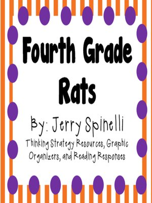 cover image of Fourth Grade Rats by Jerry Spinelli