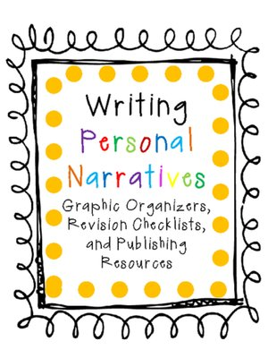 cover image of Writing Personal Narratives Resources