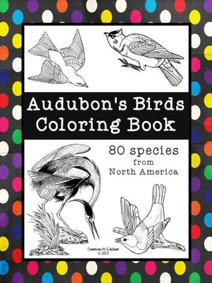 cover image of Audubons Birds--Coloring Book (Includes