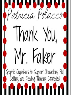cover image of Thank You, Mr. Falker by Patricia Polacco