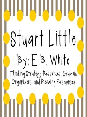 cover image of Stuart Little by E.B. White
