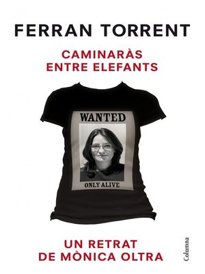 cover image of Caminaràs entre elefants