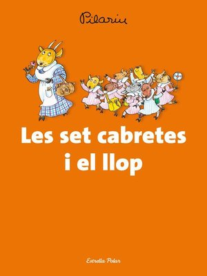 cover image of Les set cabretes i el llop