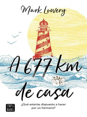 cover image of A 677 km de casa