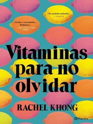 cover image of Vitaminas para no olvidar