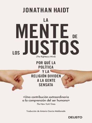 cover image of La mente de los justos