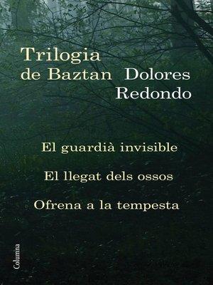 cover image of Trilogia de Baztan (pack) (Edició dedicada Sant Jordi 2015)
