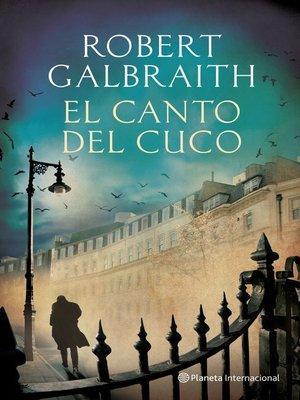 cover image of El canto del cuco