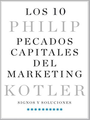 cover image of Los 10 pecados capitales del marketing