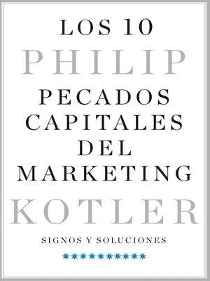 cover image of Los 10 pecados capitales del marketing