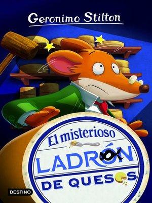 cover image of El misterioso ladrón de quesos