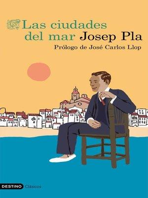 cover image of Las ciudades del mar