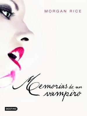 cover image of Memorias de un vampiro
