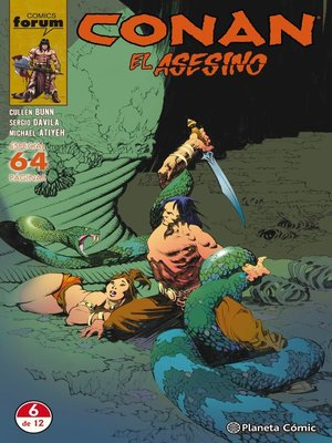 cover image of Conan El asesino nº 06/06