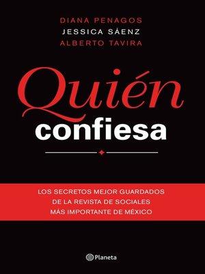 cover image of Quién confiesa