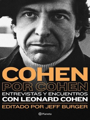 cover image of Cohen por Cohen